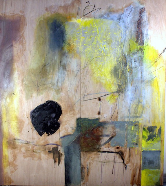 Decoding Wood By Alan Soffer, Painting Encaustic