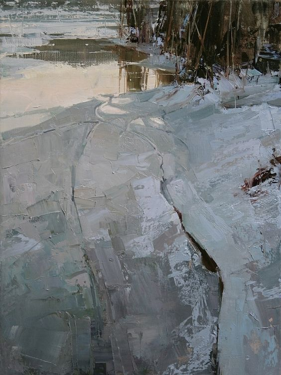 Fading Light by Tibor Nagy, Oil Painting