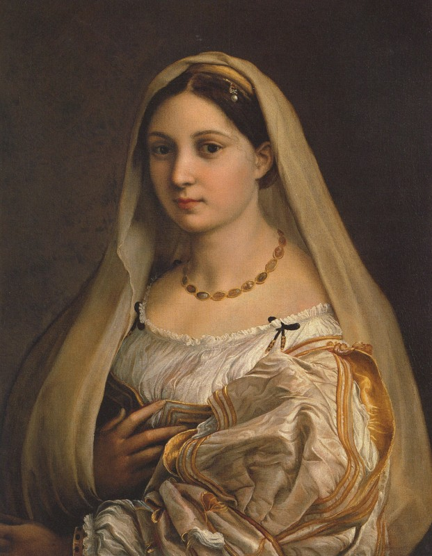 La Velata By Raphael, Oil Painting