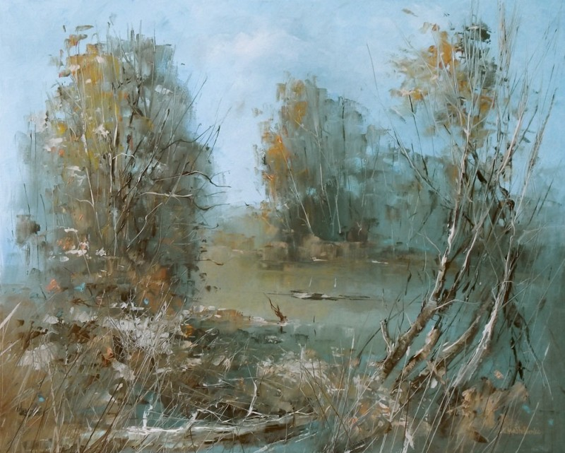 Magic Nature By Vitaliy Mashchenko, Oil Painting