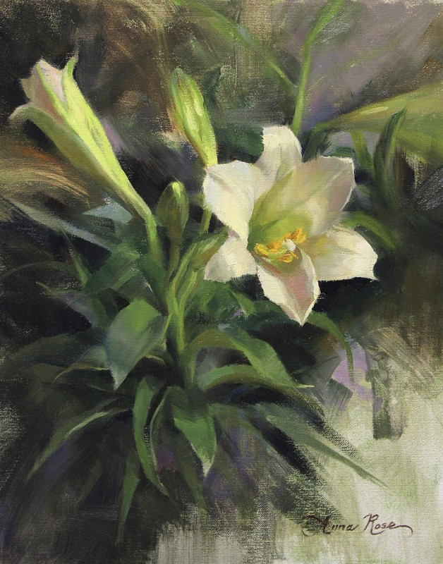 Sunday's Lily By Anna Rose Bain