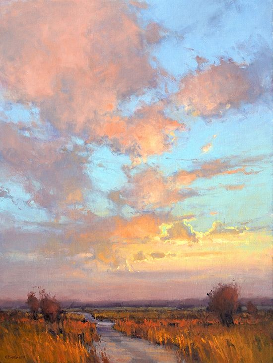 Sunrise by Kin Casebeer, Oil Painting