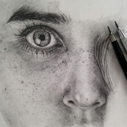 Pencil Drawing By Monica Lee