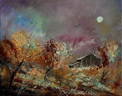 Autumn By Pol Ledent, Oil Painting