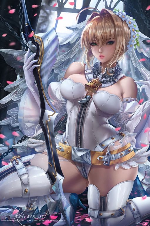 Nero Claudius Bride By Reivash, Digital Art