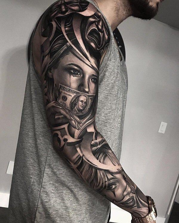 9 Realistic Tattoos by Greg Nicholson , Tattoo