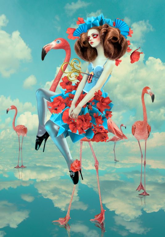 Lost in Wonderland by Natalie Shau, Digital Art