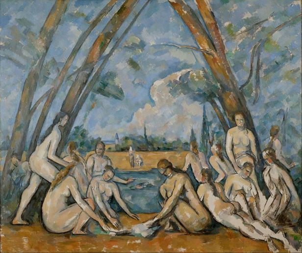The Large Bathers By Paul Cézanne, Oil Painting